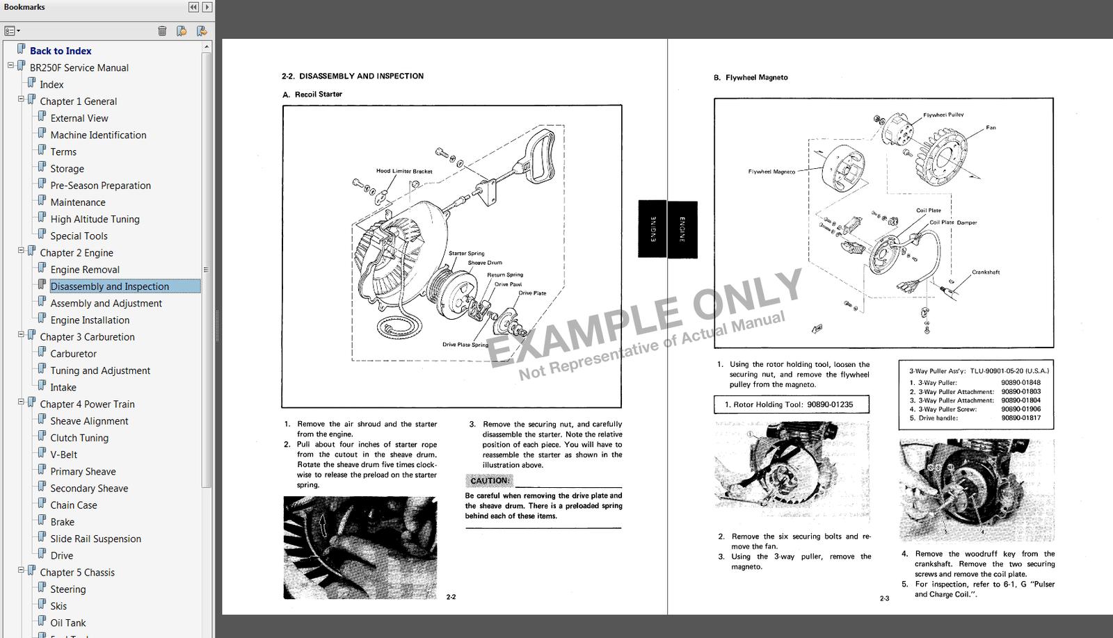 Yamaha Enticer 340 Manual
