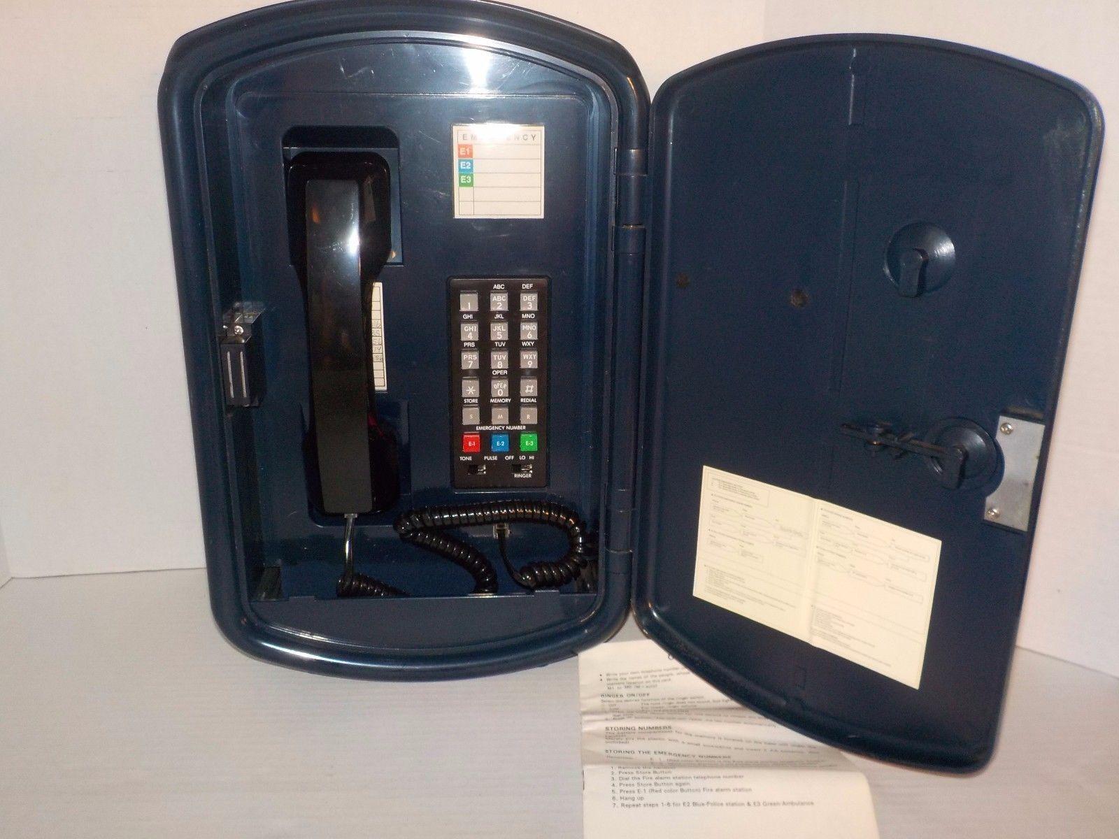 Police Patrol 911 Call Box Emergency Telephone Starlight