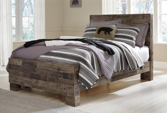 Ashley Derekson B200 Full Size Panel Bedroom Set 5pcs in ...
