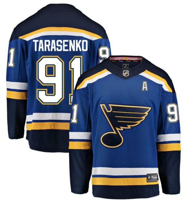 Tarasenko #91 St. Louis Blues Home Jersey Hockey Jerseys ...