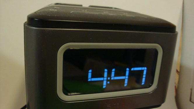 Jam Zzz Wireless Alarm Clock Grey And