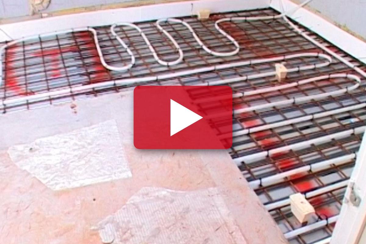 Renovering Af Badevaerelse Stob Gulv Med Gulvvarme Gor Det Selv