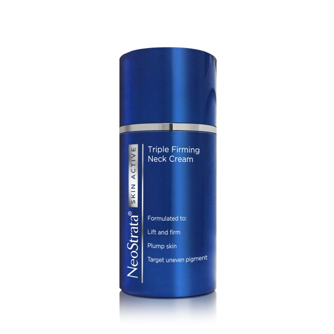 anti-aging, neck cream, triple firming, lift and firm, old age, neostrata, Neostrata Skin Active Triple Firming Neck Cream