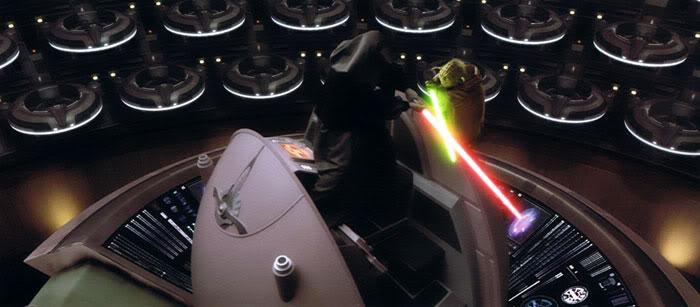 Image result for star wars senate duel