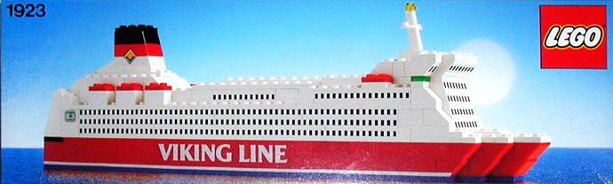 1923 1 Viking Line Ferry Brickset LEGO Set Guide And
