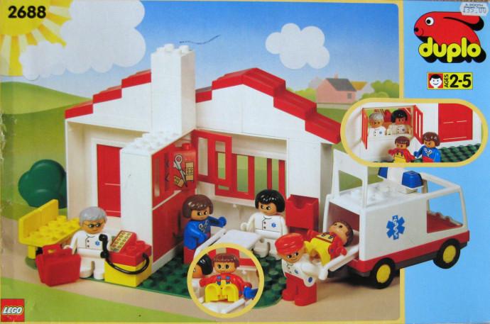 2688 1 Health Center Brickset LEGO Set Guide And Database