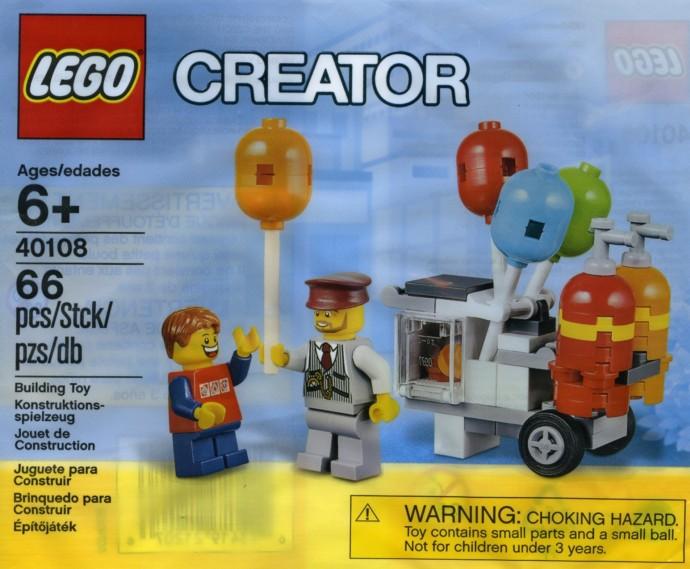 40108 1 Balloon Cart Brickset LEGO Set Guide And Database