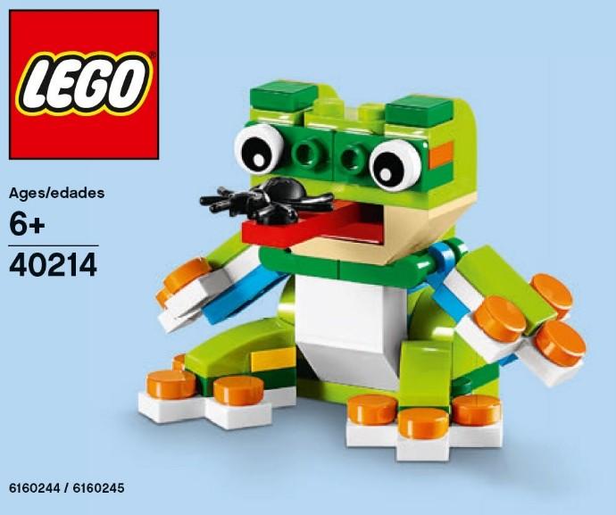 40214 1 Frog Brickset LEGO Set Guide And Database