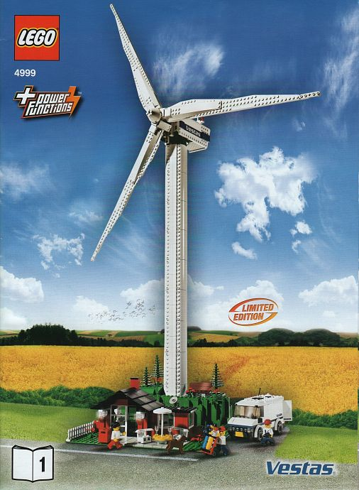4999 1 Vestas Wind Turbine Brickset LEGO Set Guide And