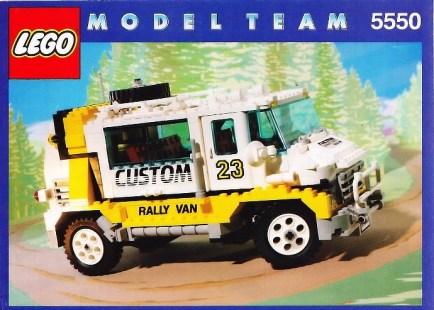 Custom Rally Van 5550