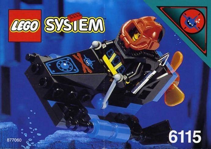 6115 1 Shark Scout Brickset LEGO Set Guide And Database