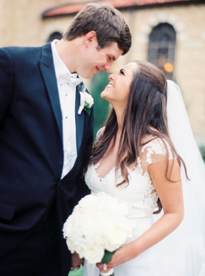 Beautiful Backyard Austin Wedding From Lee Warth Floral Design