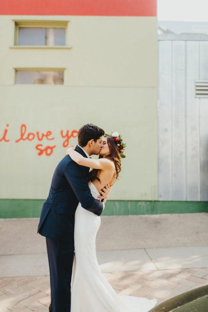 Brittany Johnson And Darryl Dadon S Modern Minimalist Outdoor Austin Wedding
