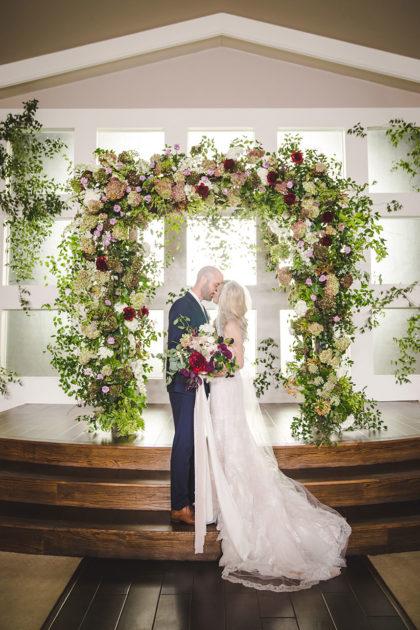 Rachel Lamb And Joshua Brown S Romantic Fall Dfw Wedding By Grit Gold