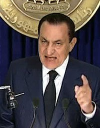 President Hosni Mubarak ... intends to stay until September.