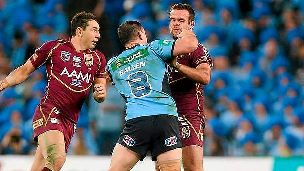 Maroons coach Mal Meninga says he's sick of the disrespect shown to Nate Myles, who was on the receiving end of Paul Gallen's punches in Origin I.