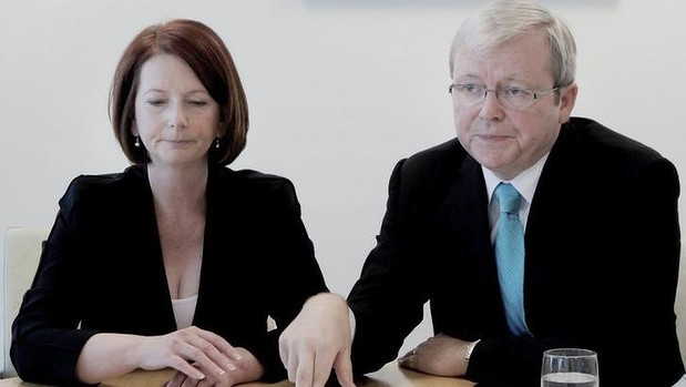 "Julia Gillard says that Kevin Rudd asked to be reinstated as foreign affairs minister after his failed leadership challenge in 2012, a request that Gillard describes as ""impossible""."