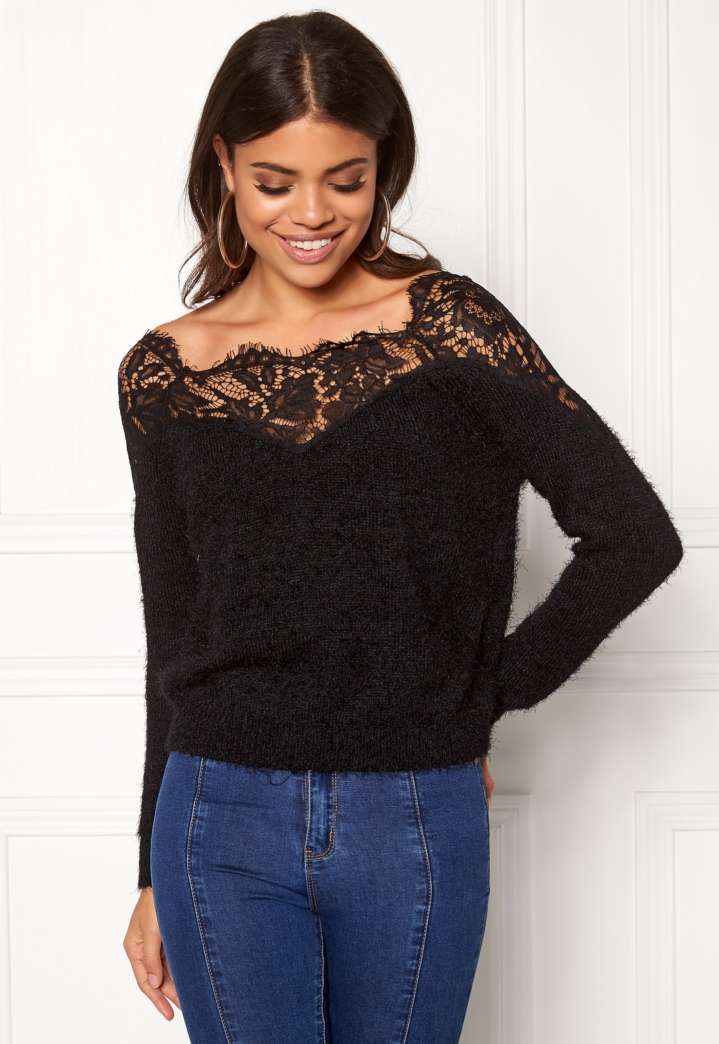 Beautiful fluffy pullover knit from Only