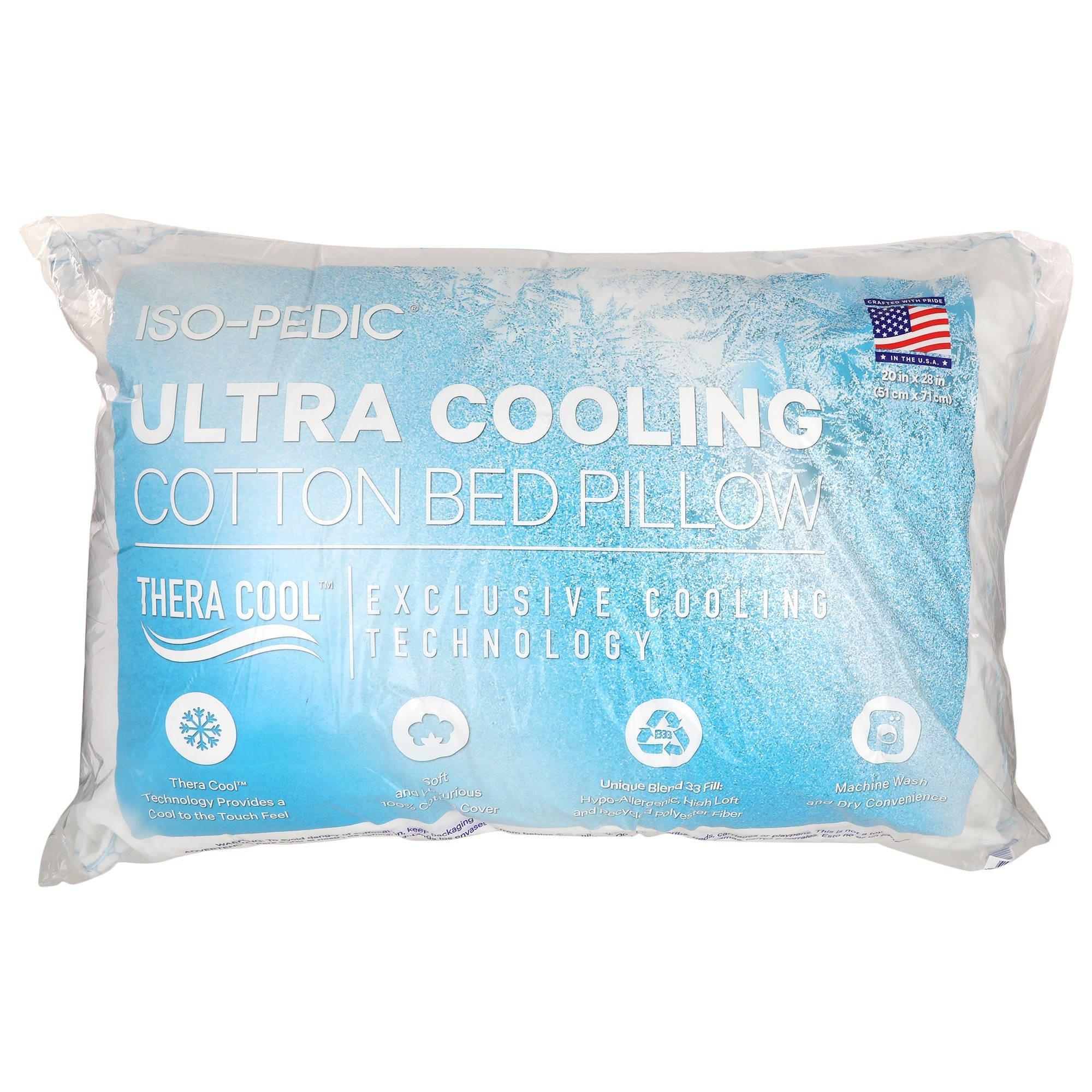 iso pedic ultra cooling pillow online