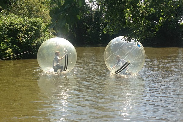 2 For 1 Water Zorbing At Pump It Up Events From Buyagift