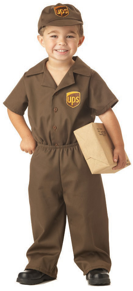 UPS Guy Toddler Costume