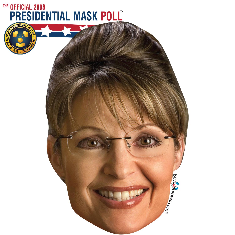 Sarah Palin Paper Mask