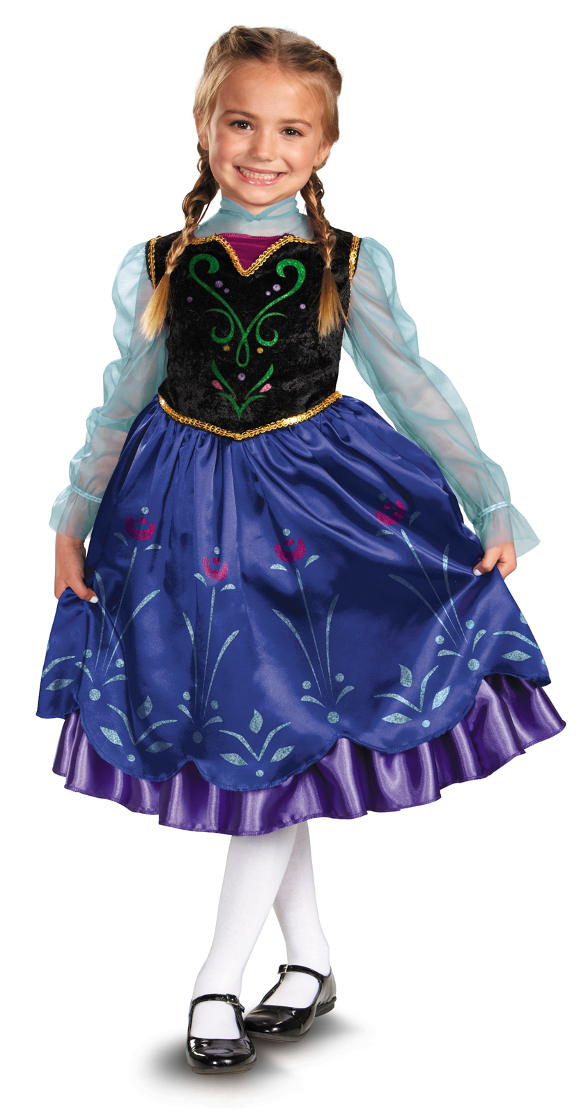 Disney Frozen Deluxe Anna Toddler / Child Costume  sc 1 st  Disney World Enthusiast & Mickeyu0027s Not So Scary Halloween Party Costumes Sale | Disney World ...