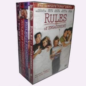 Rules Of Engagement Seasons 1 4 DVD Boxset