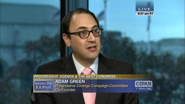 Image result for adam green progressive change campaign committee