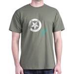 Invasion Stars and Registration Mil Green T-Shirt