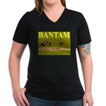 Bantam - The First To Deliver Women's V-Neck Dark