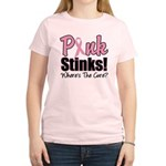 Pink Stinks Cure Women's Light T-Shirt