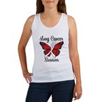 Lung Cancer Survivor Women's Tank Top