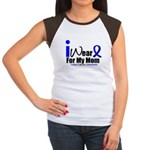 Colon Cancer Women's Cap Sleeve T-Shirt