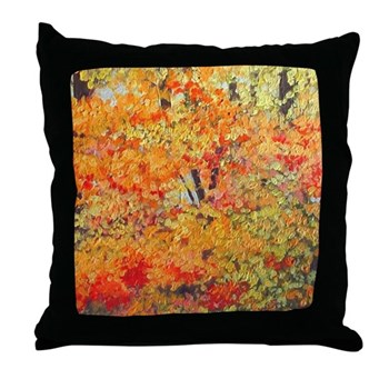 Full Show Artful Throw Pillow