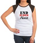 End Elder Abuse Women's Cap Sleeve T-Shirt