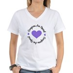 Caregiver Are Special Women's V-Neck T-Shirt
