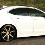 Conrad Flores Car Acura Tlx On Niche Sport Series Verona M150 Wheels California Wheels