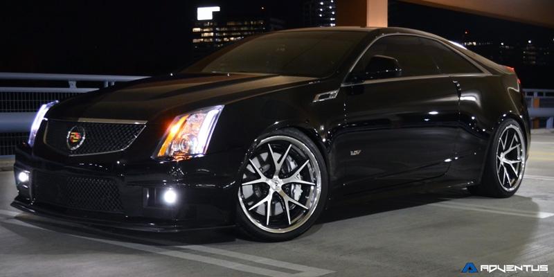 Car Cadillac Cts V On Adventus Avs 3 Wheels California