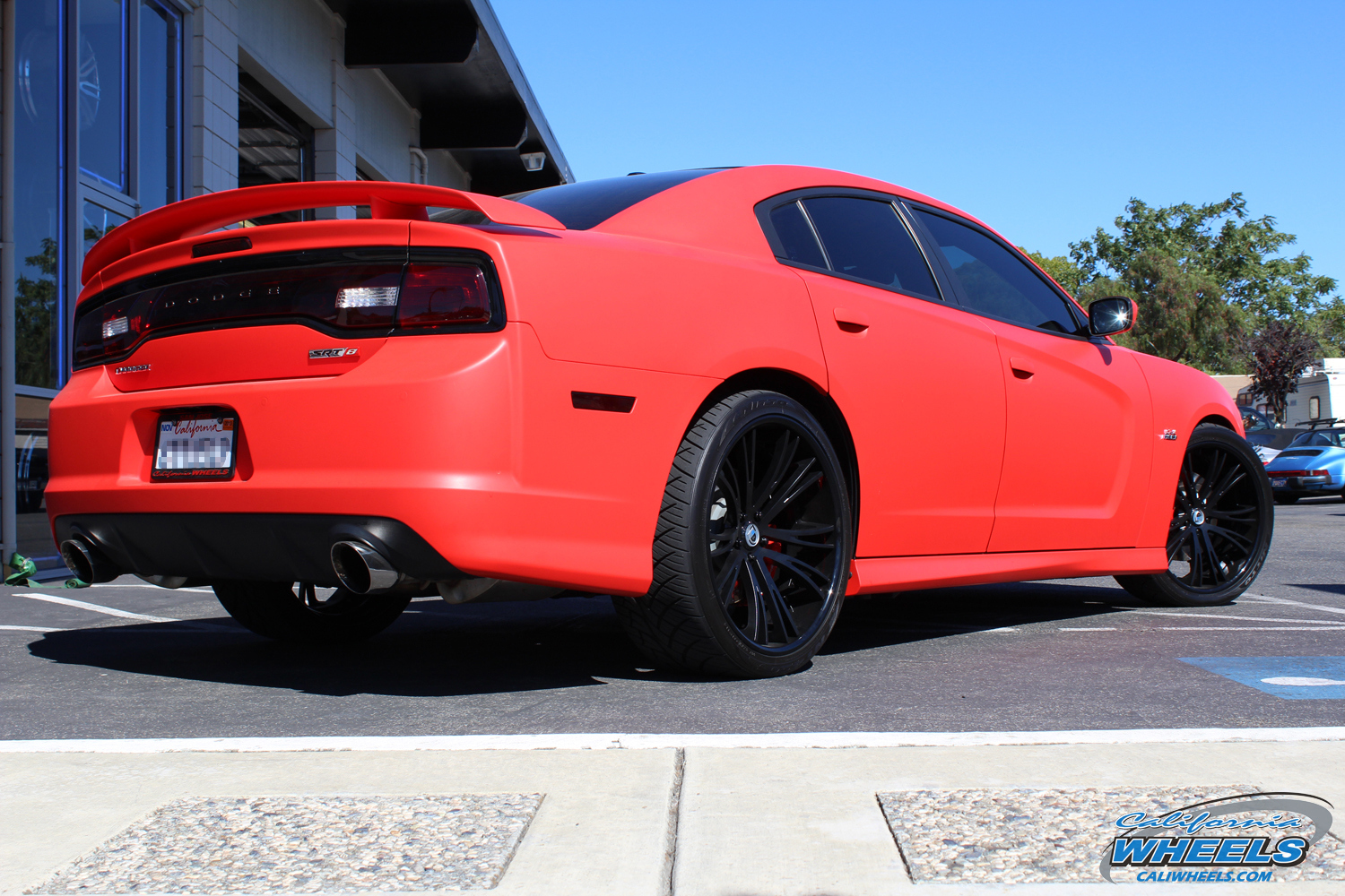 Car Dodge Charger On Asanti Forged C X Series Cx502