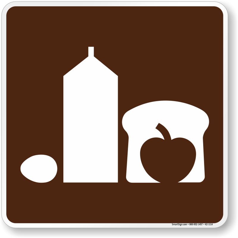 Grocery Store Symbol Sign For Campsite SKU K2 1114