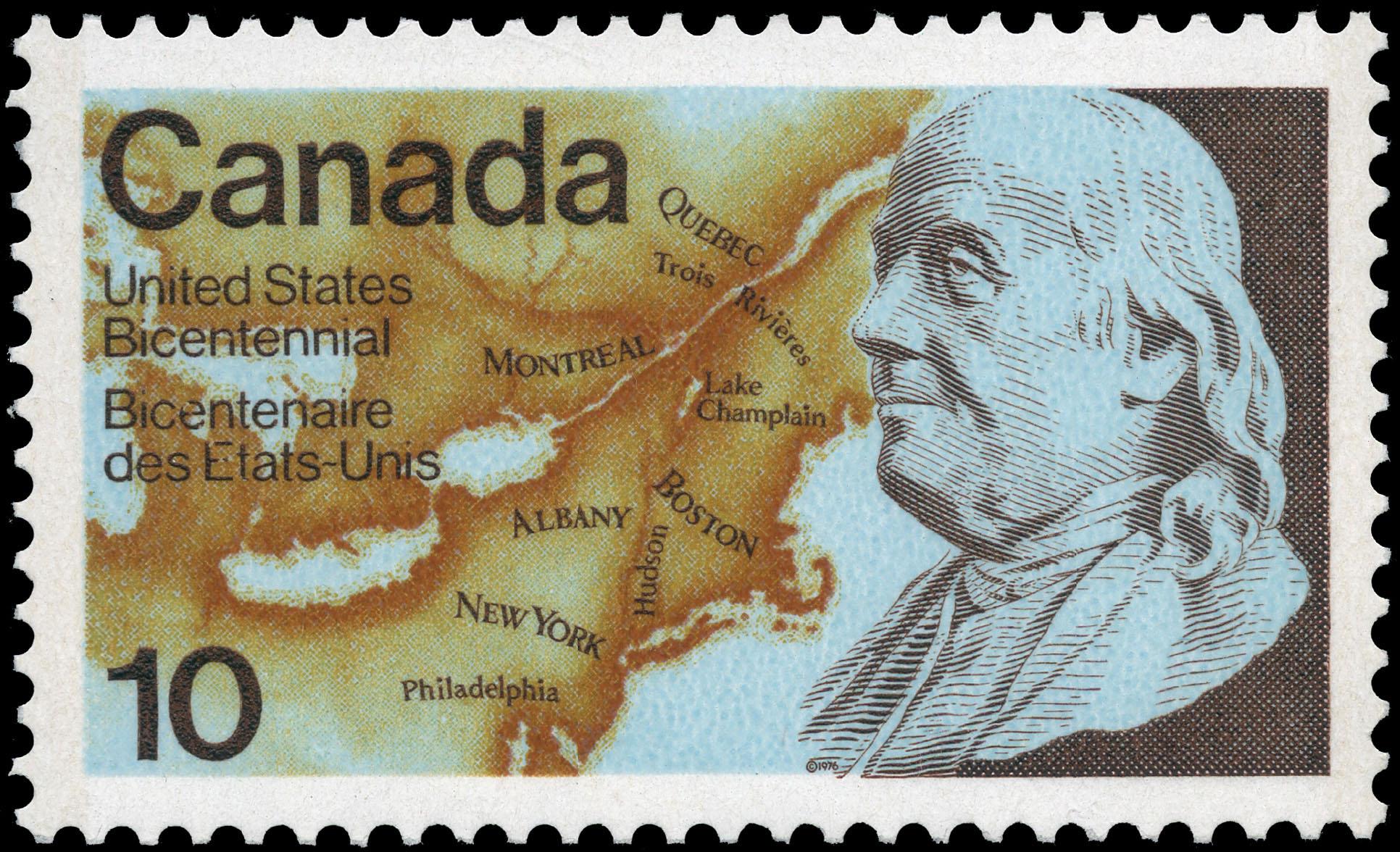 United States Bicentennial Benjamin Franklin