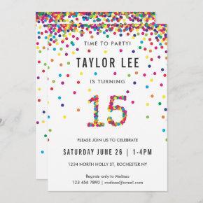 15 year old boy birthday invitations