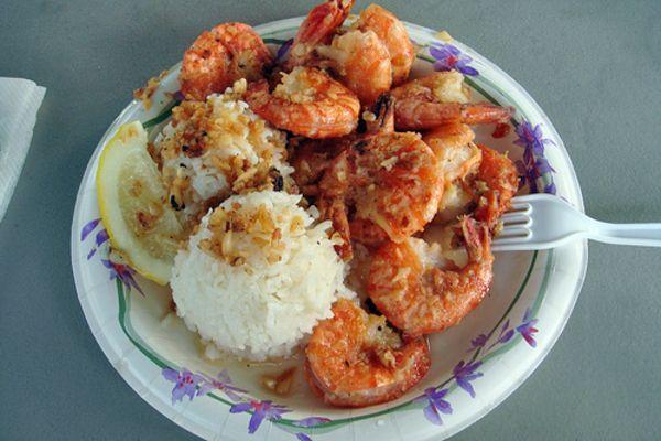 Famous Shrimps of the North Shore, Oahu   CANUSA