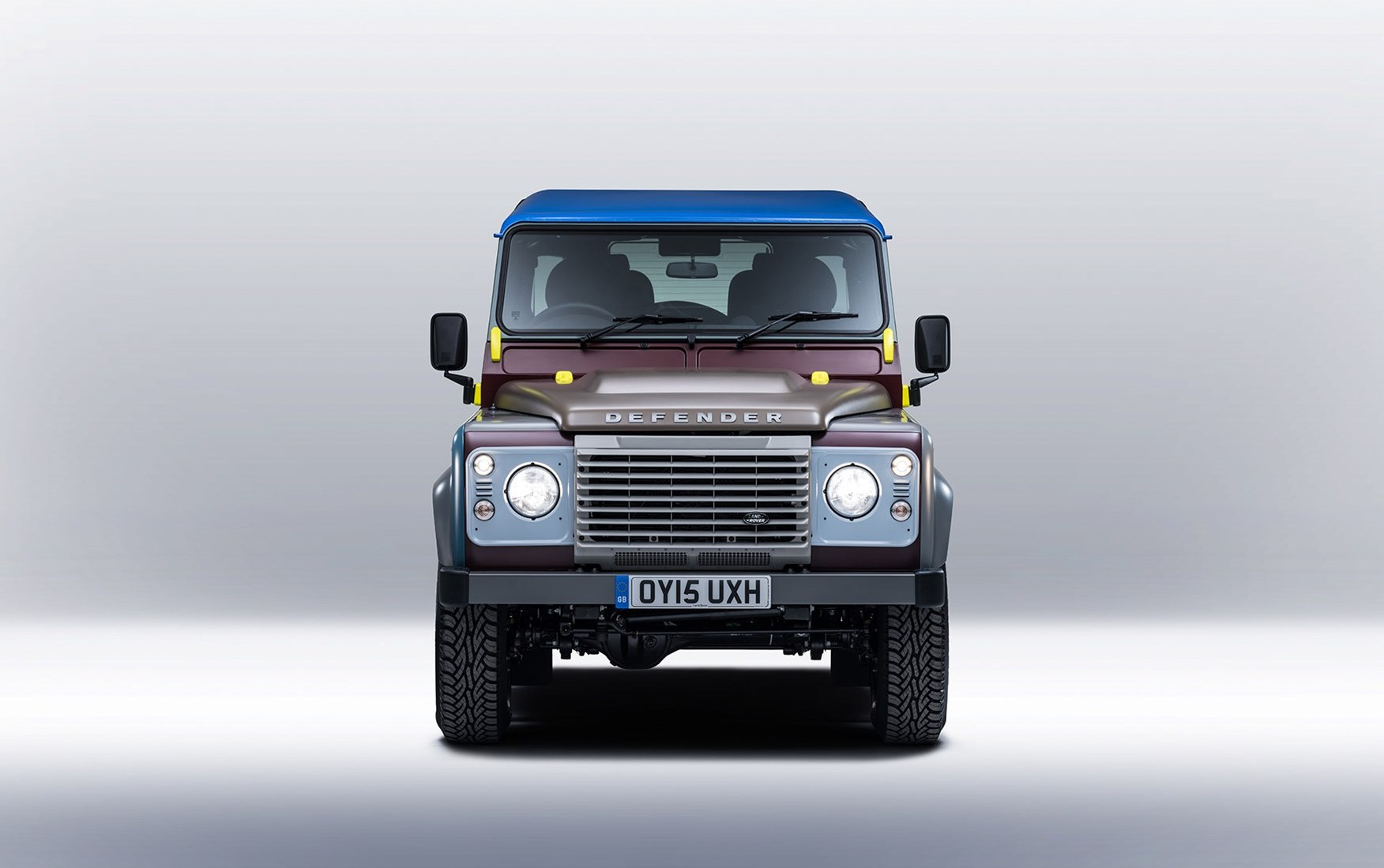 Paul Smith designs his own Land Rover Defender by CAR Magazine
