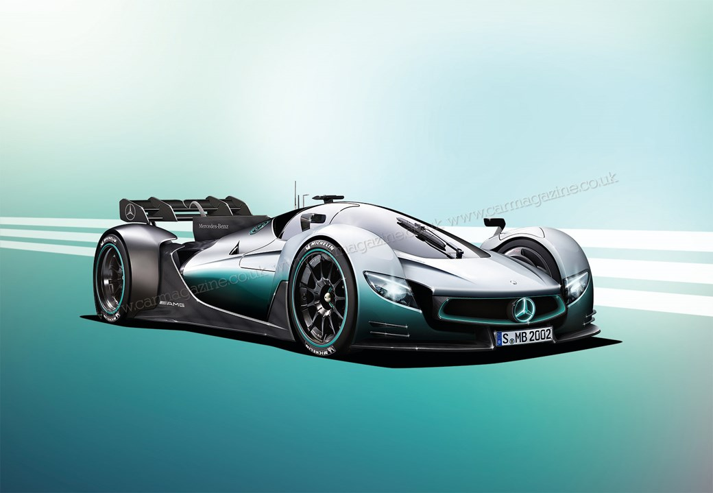 The new Mercedes-AMG R50 hypercar - F1-engined!