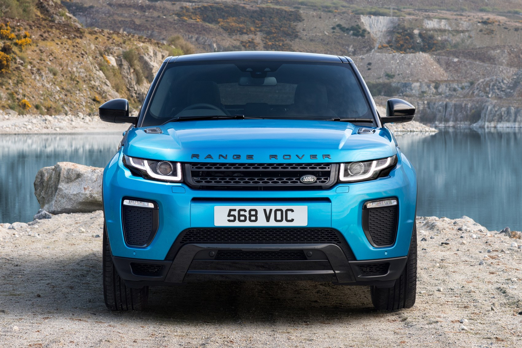 Range Rover Evoque Landmark edition celebrates sales success by