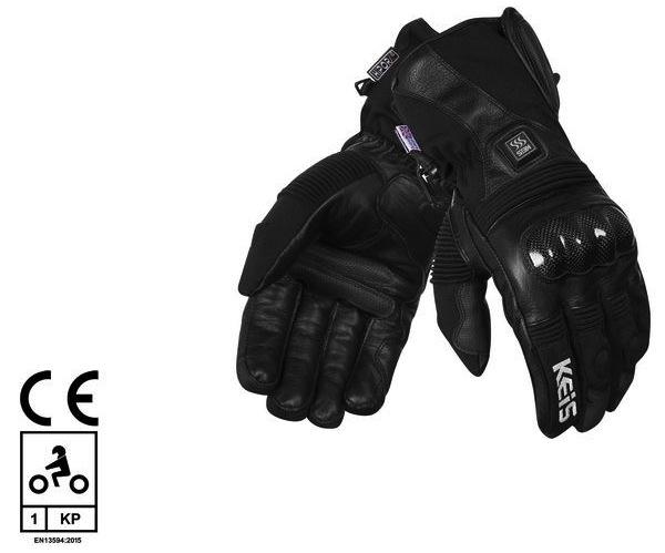 Nouveauté 2019 : gants chauffants Keis G501