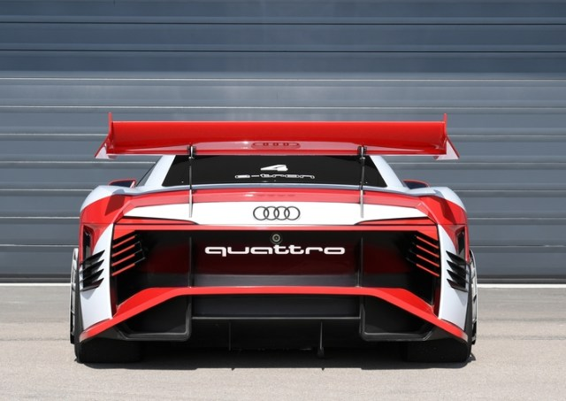 Audi unveils e-tron Vision Gran Turismo concept