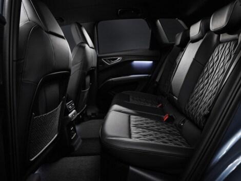 Audi unveils the interior of the Q4 e-tron